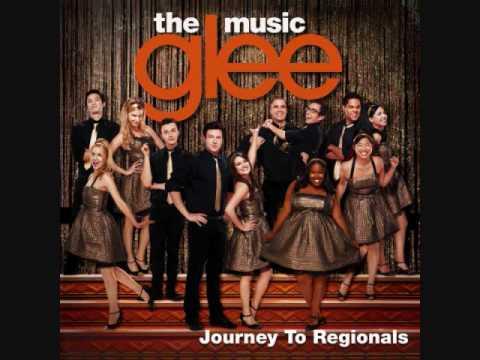 Glee Cast  Dont stop Believin Regionals Version HQ FULL STUDIO + lyrics