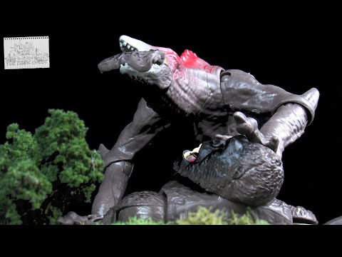 Playmates Godzilla Vs Kong (2021) Skullcrawler Battle Damaged Kaiju Figure Review - Spoilers!!!