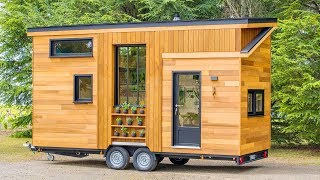 Absolutely Gorgeous The Tiny House Astrild By Baluchon | Living Design For A Tiny House