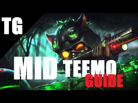 AP TEEMO MID Guide [Season 5] Omega Squadron Teemo - Full Game