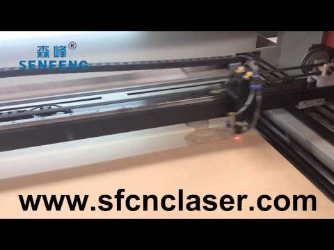 MDF laser photo engraving machine