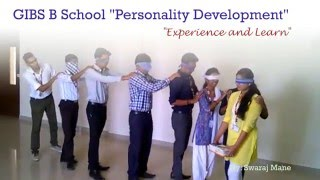 Personality Development activities conducted at GIBS Campus - MBA Institutes
