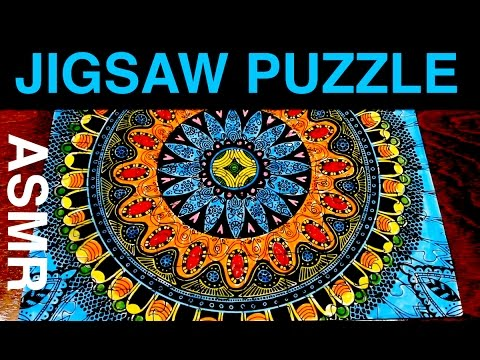ASMR - Most Relaxing Jigsaw Puzzle Video?