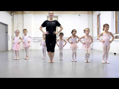 Joffrey Ballet School NYC Pre Ballet 1 Class, for Ages 5-6 -