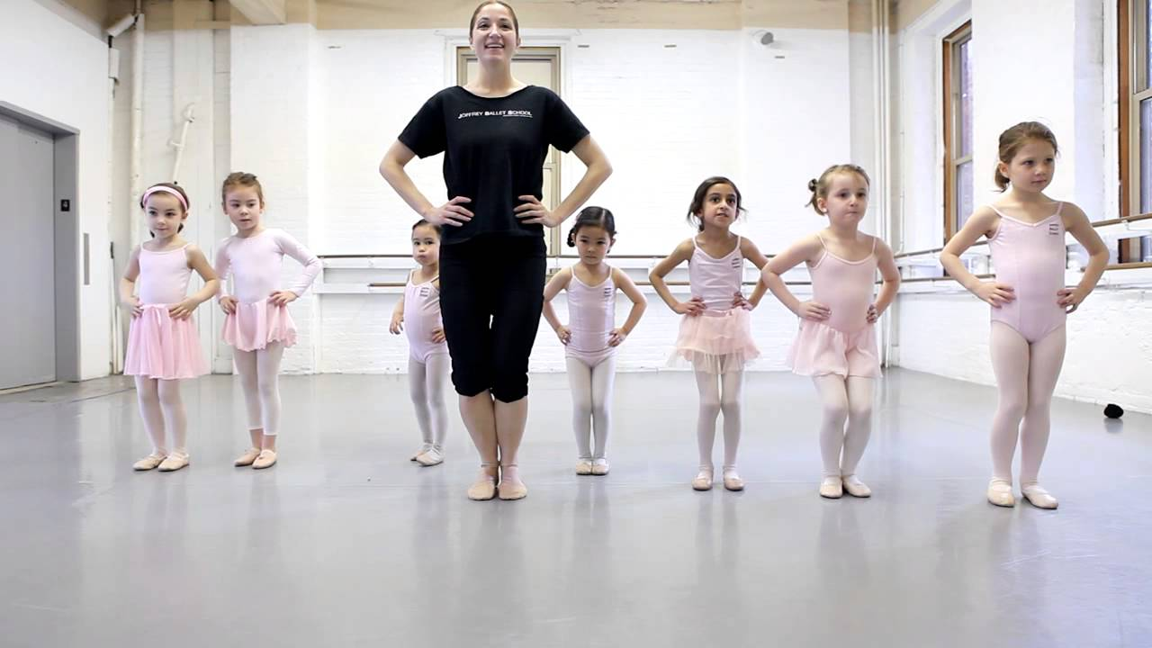 Joffrey Ballet School Nyc Pre Ballet 1 Class For Ages 5 6 The