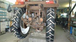 Самодельный трактор ,редуктор заднего моста(часть №1)