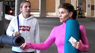 Lori Loughlin Looks Super Tense With Potential Jail Time And Divorce Looming