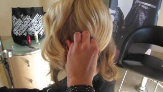 Charlize Theron Hair Tutorial Golden Globes | Celebrity Style