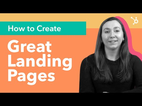 How To Create Landing Pages