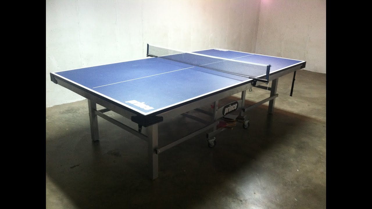 Prince Challenger Table Tennis Table Review