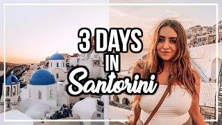 3 DAYS IN SANTORINI, GREECE! | Prettiest Sunset on Earth