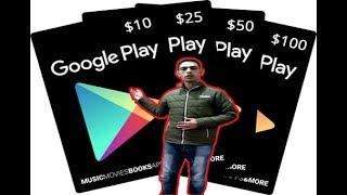 اقسم بالله ربح بطاقات جوجل بلاي مجانا google play card free