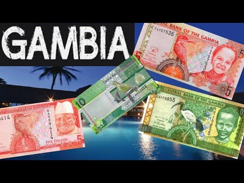 Currency of Gambia || Gambia Currency || Gambian Dalasis || World Banknotes collection