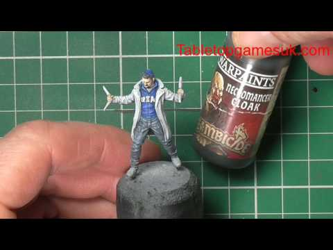 How to paint Captain Boomerang part 2