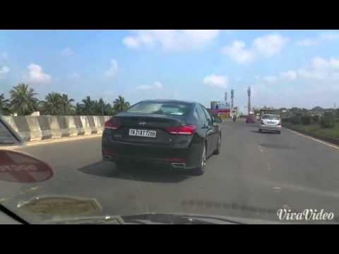 Hyundai genesis spotted in india  YouTube