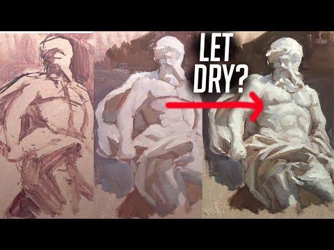 PAINT TALK: Should you let oil paint layers dry