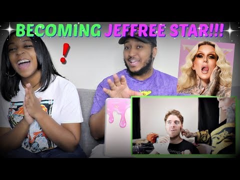 """Shane Dawson """"Becoming Jeffree Star For A Day"""" REACTION!!!"""