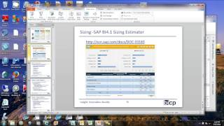SAP BusinessObjects BI 4.1 Installation Best Practices Webinar(SAP BusinessObjects BI 4.1 Installation Best Practices Webinar Presented by Rich Chlebek Thursday, May 15, 2014, 11:00 AM Pacific To download a PDF of ..., 2014-05-19T17:50:46.000Z)