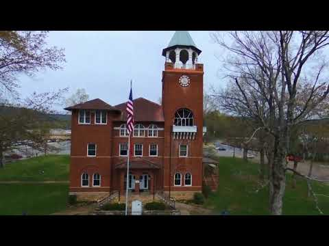 Rhea County Courthouse In Dayton, TN (drone Video)