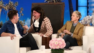 'Harry Styles' Scares Niall Horan by : TheEllenShow