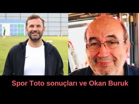 Spor Toto sonuçları ve Okan Buruk