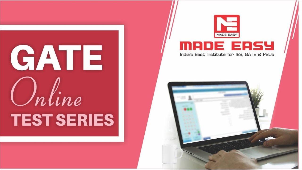 Gate Online Test Series 2019 Mock Test Gate Ce Ee Me Cs Ec In Pi