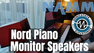 NAMM 2019 Nord Piano Monitor Speakers