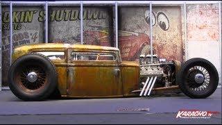 Essen Motorshow 2012 Hot Rods bei KARACHO.tv