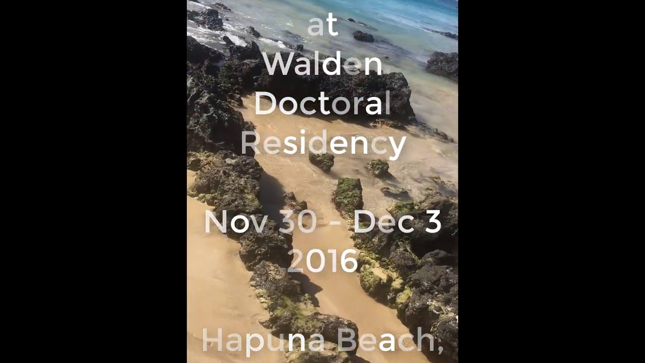 PDKWUCC at Hawaii Walden University Doctoral Residency 2016