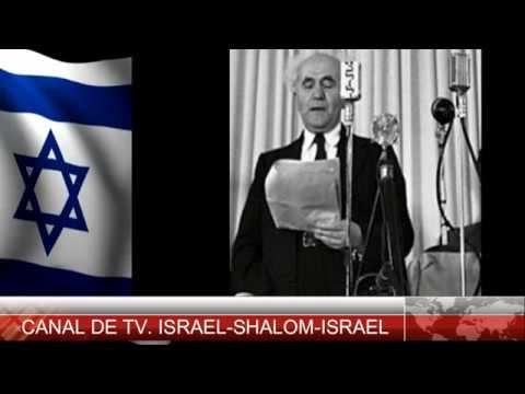 DECLARACION DE INDEPENDENCIA DE ISRAEL  14 DE MAYO DE1948