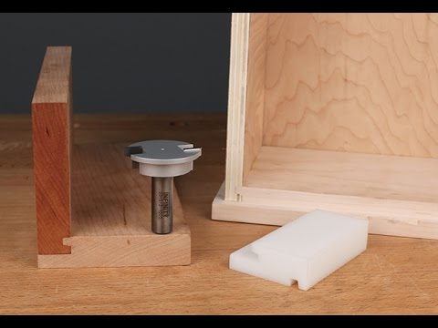 Infinity Cutting Tools  Drawer Locking Router Bit  YouTube