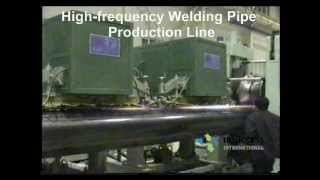 Welding Pipe Production Line/ High-frequecy welding/ mill/ Steel Pipe Machine