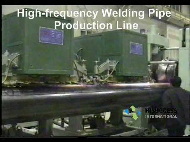 Welding Pipe Production Line/ High-frequecy welding/ Tube mill/ Steel Pipe Machine
