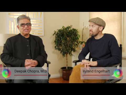 Deepak Chopra interview with Ryland Engelhart (Co-Founder, Kiss The Ground & CIO, Cafe Gratitude)
