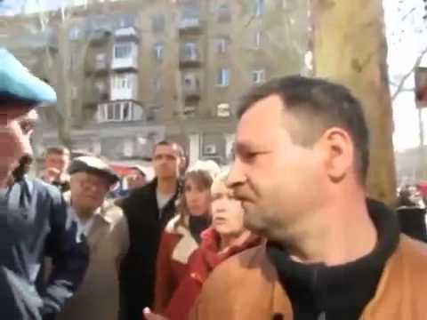 Драка Николаеве. Майдан и Антимайдан