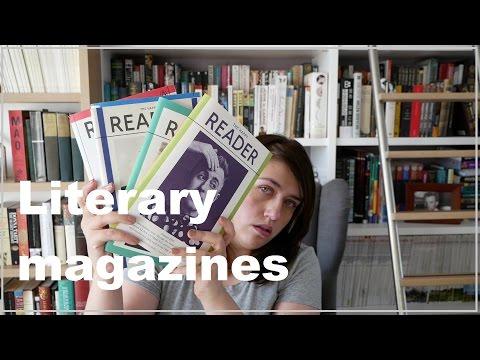 Literary Magazines I read