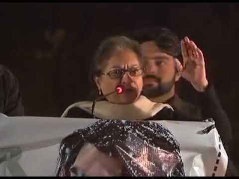 Asma Jahangir speech to #PashtunLongMarch