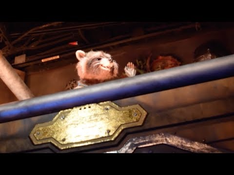 Guardians of the Galaxy – Mission: BREAKOUT! Full Ride, Disney California Adventure, Disneyland