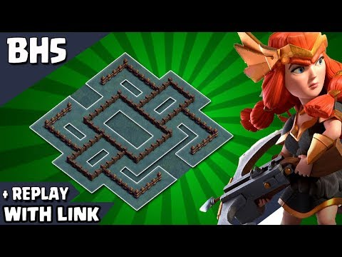 BEST NEW Builder Hall 5 Base (BH5 Base) 2019 WITH REPLAY PROOF | BH5 Trophy Base |CLASH OF CLANS