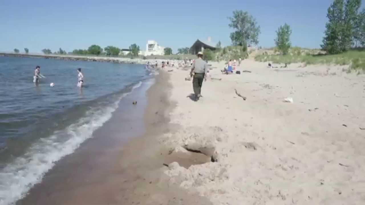 Beach Erosion Worries At Indiana Dunes