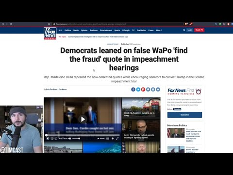 Scandal Erupts As Several Outlets CAUGHT Pushing Lie About Trump, Democrat Impeached Using Fake News