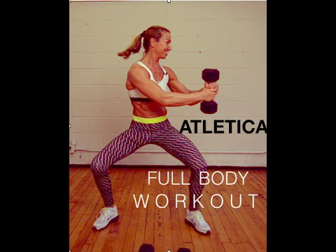 atletica full body workout with weights  youtube