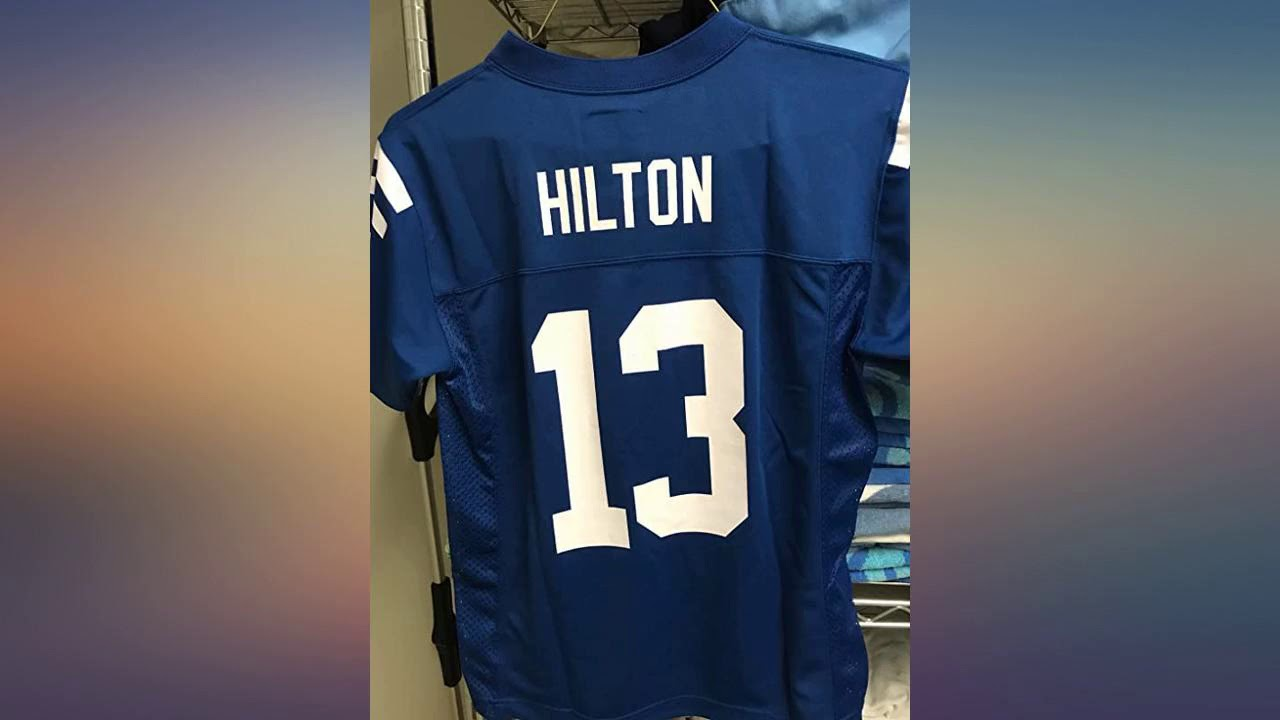 Outerstuff TY Hilton Indianapolis Colts Blue Youth 8-20 Home Player Jersey