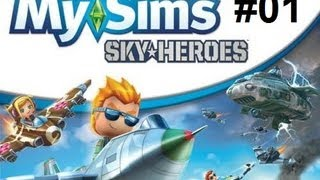 Let´s Play My Sims - Sky Heroes [blind] # 01 Ps3