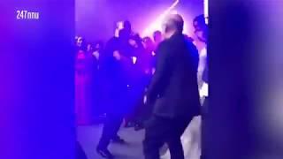 Idris Elba and Sabrina Dhowre's wild wedding reception as Christian Louboutin twerks for bride