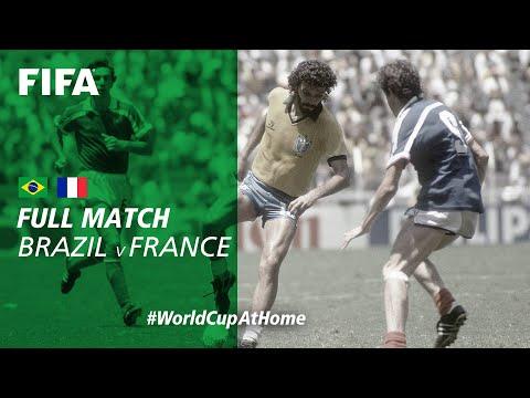 #WorldCupAtHome | Brazil V France (Mexico 1986)