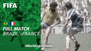 Brazil v France   1986 FIFA World Cup   Full Match