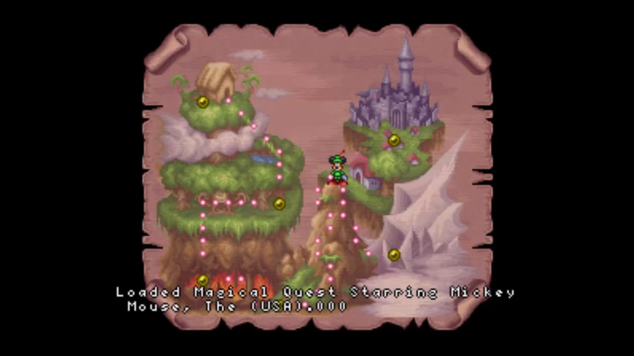 lets play magical quest starring mickey mouse 3 bird
