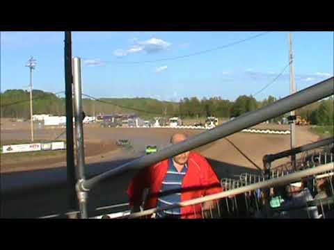 hibbing raceway #3 Mike Blevins Racing