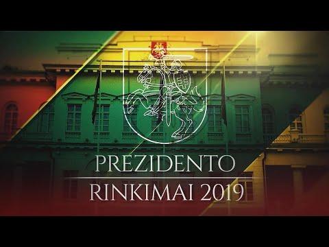 """""""Prezidento rinkimai 2019"""": I. Šimonytės ir G. Nausėdos debatai (2019-05-23)"""
